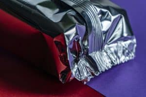 aluminum foil package
