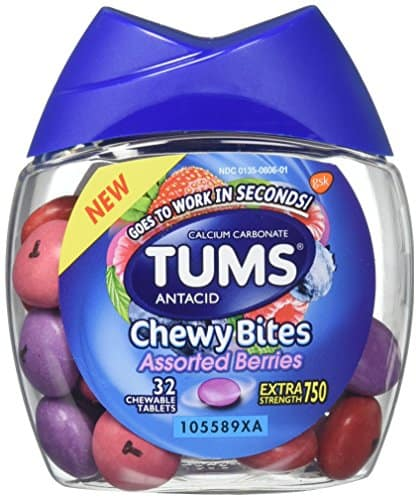 dog ate tums