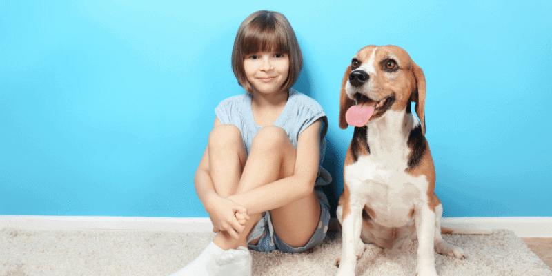 Are Beagles Good with Kids